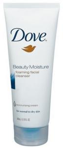 Dove Beauty Moisture Foaming Facial Cleanser