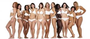 dove real beauty models