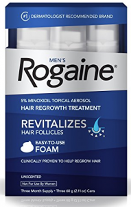 mens rogaine hair